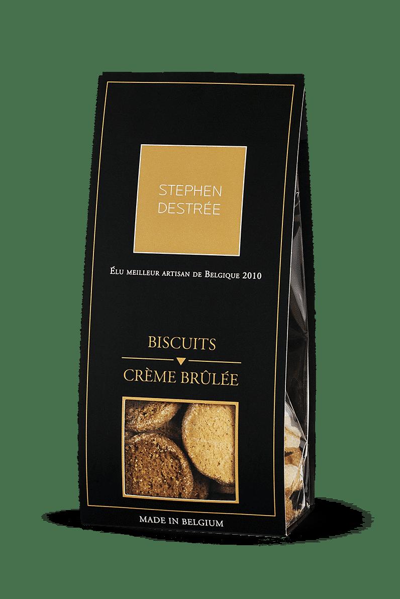 Biscuits Crème brûlée