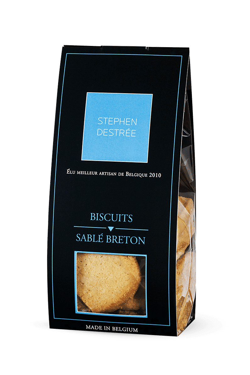 Breton shortbread cookie