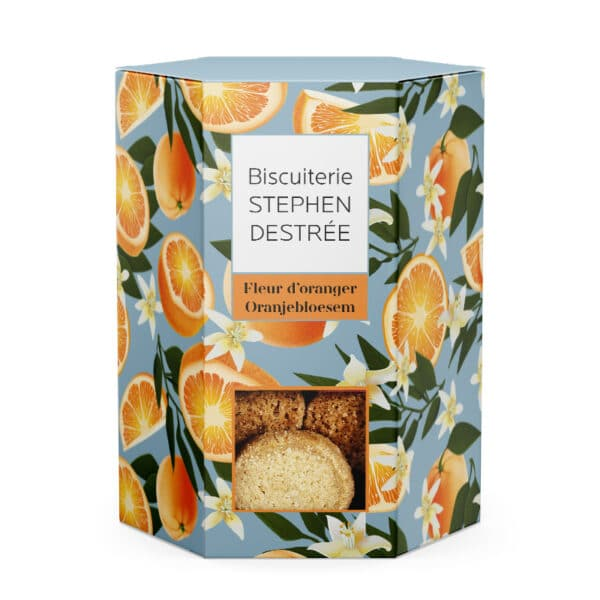 Biscuit Fleur d'oranger
