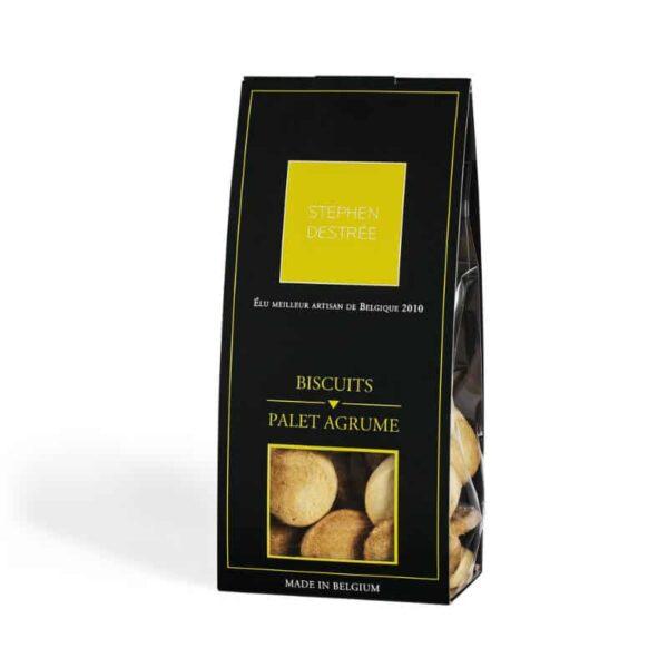 biscuit palet agrume sachet 100g