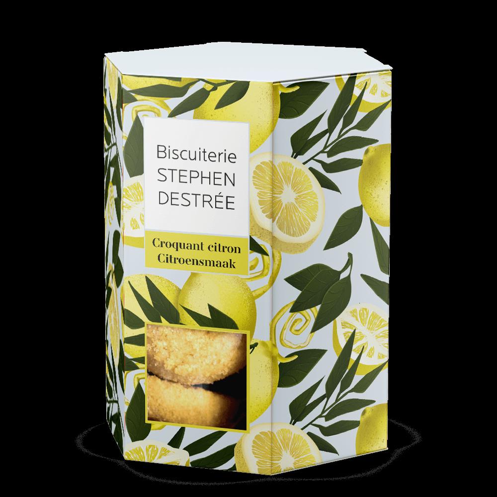 Lemon Crunchy Biscuit