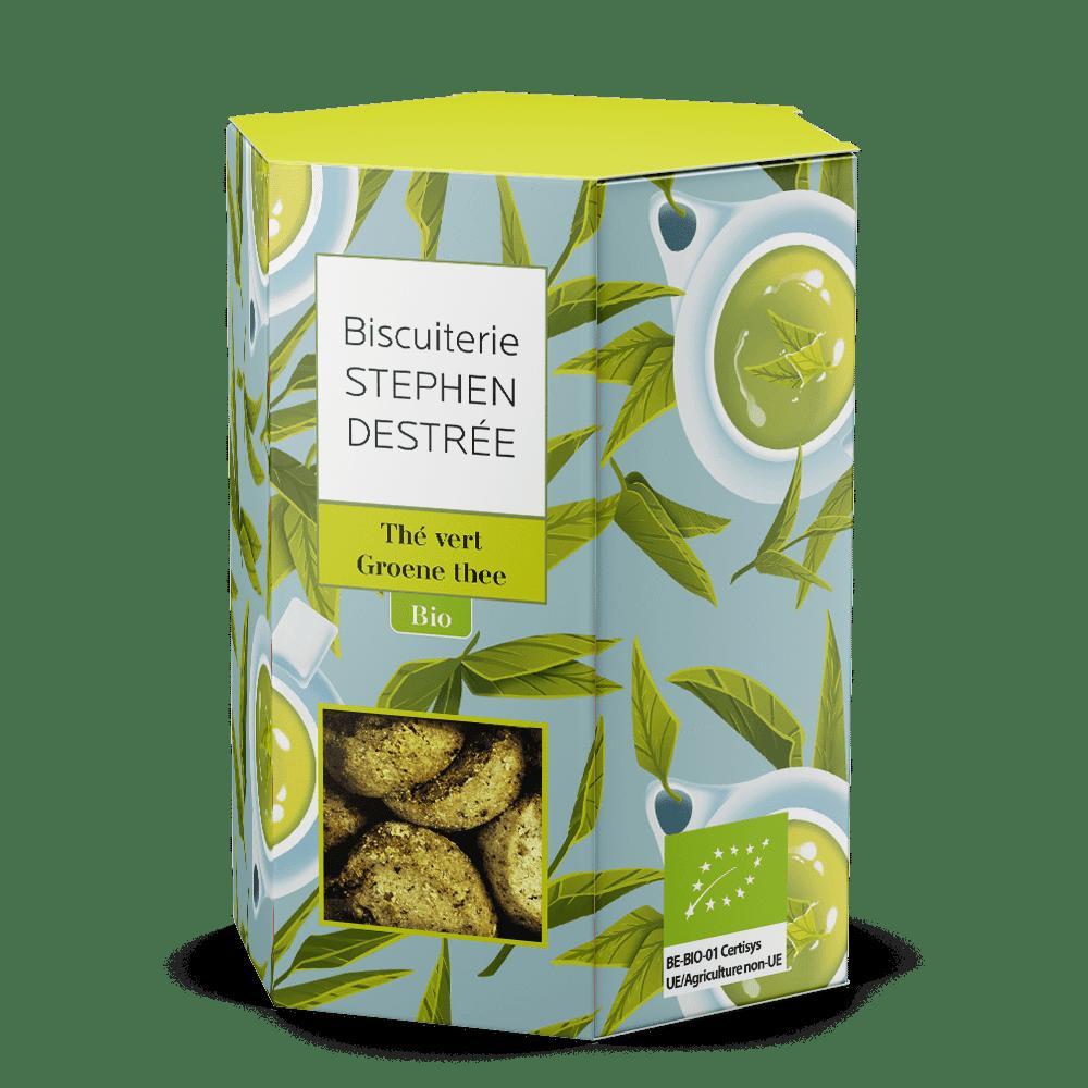 Biscuit sablé thé vert bio