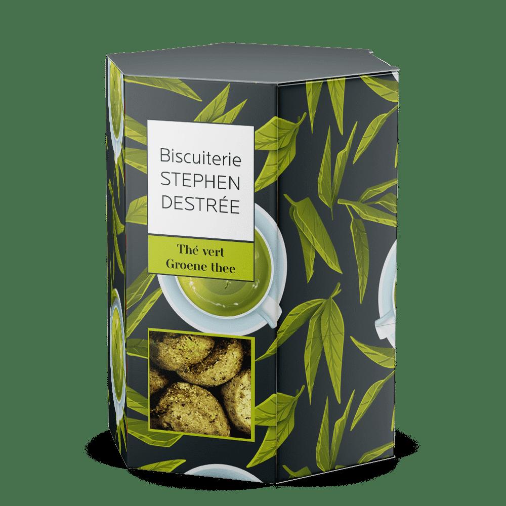 Koekje met groene thee