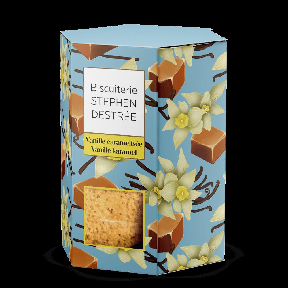 Biscuit Vanille caramelisée